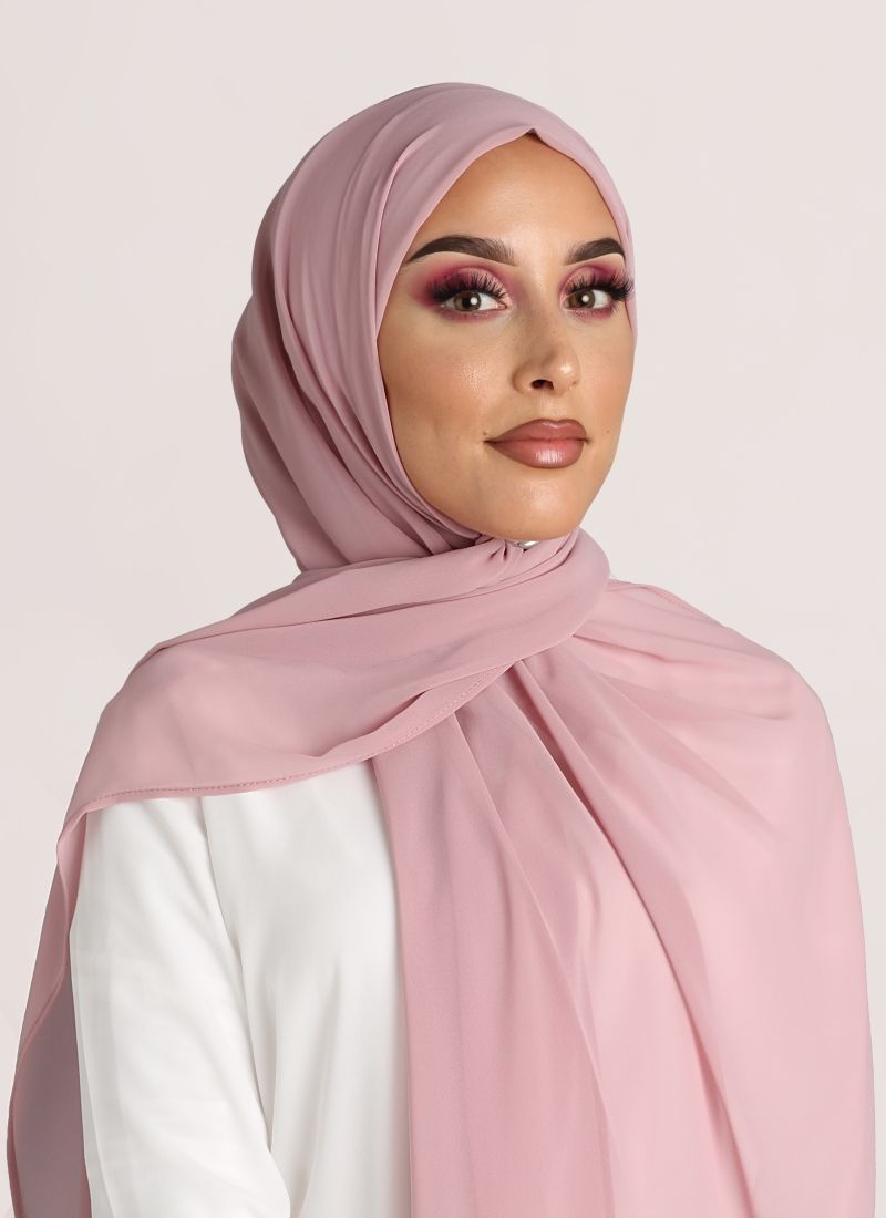 hijab color blush