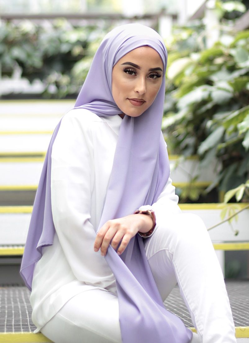 hijab color lavanda